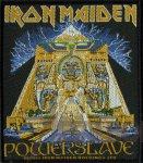 kleiner Aufnäher Iron Maiden Powerslave Cover