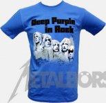 T-Shirt Deep Purple In Rock ( blue ) M
