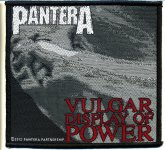 kleiner Aufnäher Pantera Vulgar Display of Power
