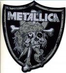 kleiner Aufnäher Metallica Raiders Skull