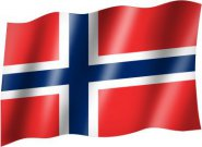 Flagge Country Flag Norway