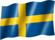 Flagge Country Flag Sweden
