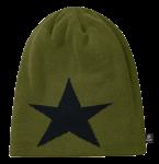 Beanie Star oliv