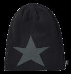 Beanie Star schwarz