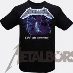T-Shirt Metallica Ride the Lightning XL
