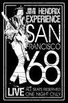 Flagge Jimi Hendrix San Francisco 68