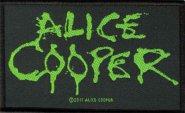 kleiner Aufnäher Alice Cooper Logo