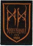 kleiner Aufnäher Minas Morgul Logo Braunrot