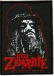 kleiner Aufnäher Rob Zombie Portrait
