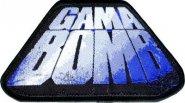 kleiner Aufnäher Gama Bomb Blue Logo
