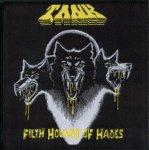kleiner Aufnäher TANK Filth Hounds of Hades