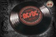 Teppich AC/DC Schallplatte