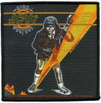 kleiner Aufnäher AC/DC High Voltage Cover