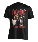 T-Shirt AC/DC Highway to Hell Retro Print