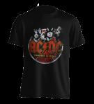 T-Shirt AC/DC Highway Band Circle