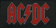kleiner Aufnäher AC/DC Logo