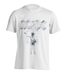 T-Shirt AC/DC Flick of the Switch ( weiß )