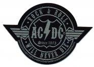Kleiner Aufnäher AC/DC Wings