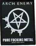 kleiner Aufnäher Arch Enemy Pure f***ing Metal