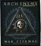 kleiner Aufnäher Arch Enemy Triangle Skull