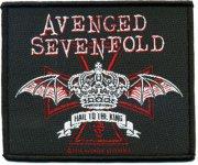 kleiner Aufnäher Avenged Sevenfold Crown