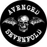 Rückenaufnäher Avenged Sevenfold Bat Skull