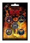 Button Set AC/DC Classic Albums
