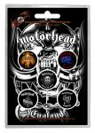 Button Set Motörhead Classic Album Cover