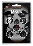 Button Set Misfits Classic Designs