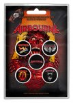 Button Set Airbourne Breakin' outta Hell