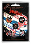 Button Set Judas Priest Classic Album Covers