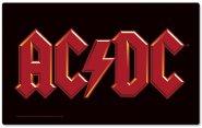 Frühstücksbrettchen AC/DC Logo