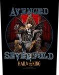 Rückenaufnäher Avenged Sevenfold Hail to the King