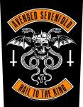 Rückenaufnäher Avenged Sevenfold Biker