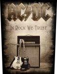 Rückenaufnäher AC/DC In Rock we Trust