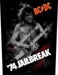 Rückenaufnäher AC/DC For Jailbreak