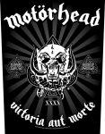 Rückenaufnäher Motörhead Victoria aut Morte