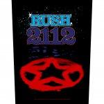 Rückenaufnäher Rush 2112