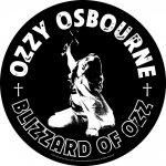 Rückenaufnäher Ozzy Osbourne Blizzard of Ozz