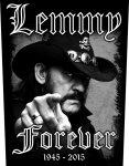 Rückenaufnäher Motörhead Lemmy Forever
