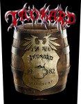 Rückenaufnäher Tankard Beer Barrel