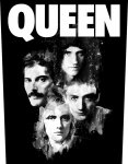 Rückenaufnäher Queen Faces
