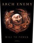 Rückenaufnäher Arch Enemy Will to Power