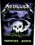 Rückenaufnäher Metallica Creeping Death