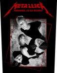 Rückenaufnäher Metallica Hardwired Band
