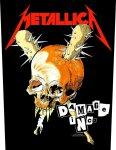 Rückenaufnäher Metallica Damage Inc.