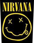 Rückenaufnäher Nirvana Smiley