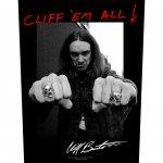 Rückenaufnäher Metallica Cliff Burton