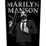 Rückenaufnäher Marilyn Manson Machine Gun