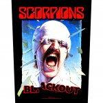 Rückenaufnäher Scorpions Blackout